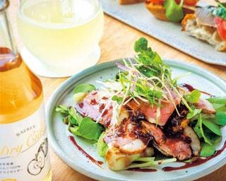 樽生のシードルを和食ベースの創作メニューに合わせて!京都市役所前「リンゴ酒場 SWINGIN'」