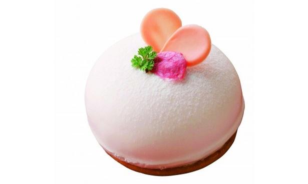 桜の香りとチーズのコクがコラボした「淡桜」(546円)