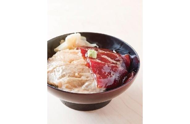 鯛とマグロのヅケが美味!「鮨からく」では限定丼が1日20食提供される