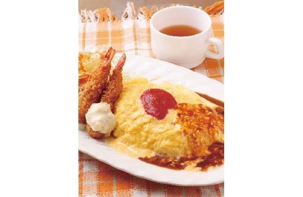 「レストラン あづま」の「ケチャップオムライス」(1000円)も銀座OLに人気!