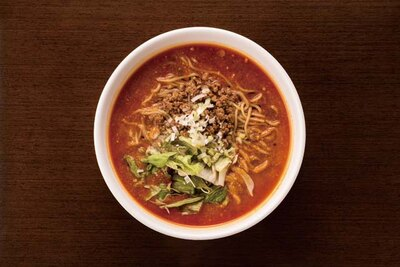 チャイニーズキッチン CHINA / 「担々麺」(730円)。生ゴマを炒っているので香り豊か。醤油ベースのスープが特徴的