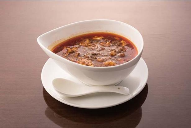 チャイニーズキッチン CHINA / 「麻婆豆腐」(880円)。山椒とラー油が効いた自慢の一品。白飯にかけて食べるよう