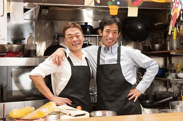 田中華麺飯店 / 修業時代に出会った2人が仲よく切り盛りする