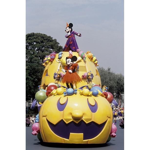 2002年 東京ディズニーランド ディズニー・ハロウィーン・パレード
