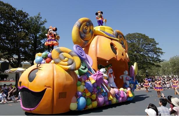 2004年 東京ディズニーランド ディズニー・ハロウィーン・パレード