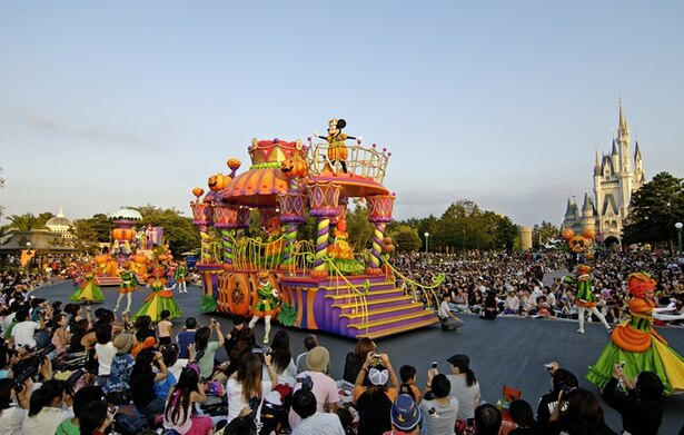 2005年 東京ディズニーランド ディズニー・ハロウィーン・パレード