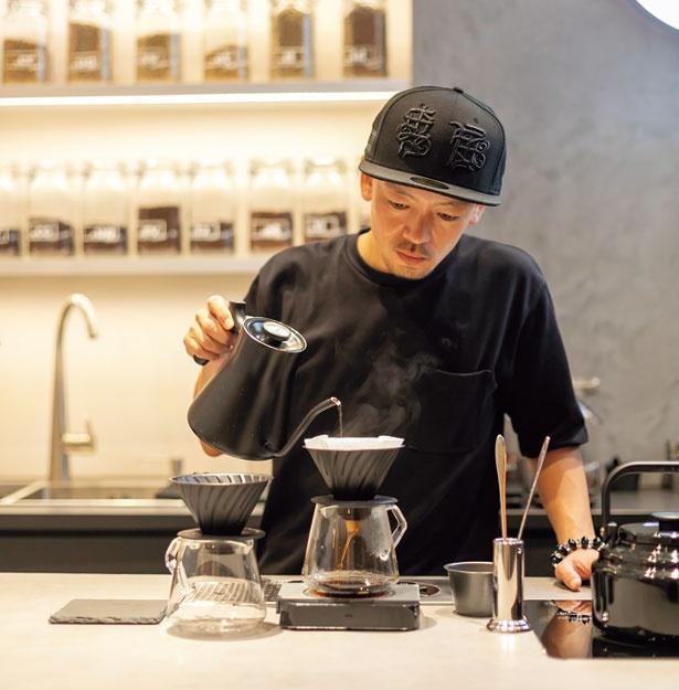 ハンドドリップのコーヒーが定額制で楽しめる。独自の定額制は、会員証はなし/Coffee Base KANONDO