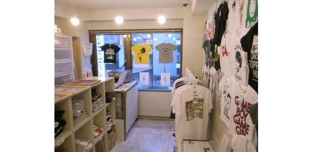 渋谷にある直営店の店内