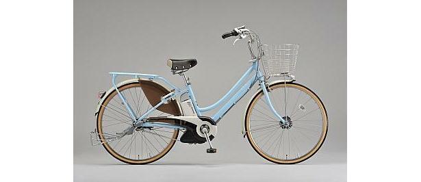 ブリヂストンサイクルの新電動アシスト自転車「アシスタスティラL」(10万8800)