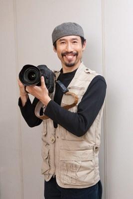 当日、募金活動を行う予定の戦場カメラマン・渡部陽一氏