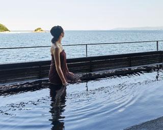 まるで海に入っているみたい!九州のインフィニティスパ2選