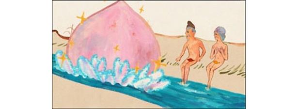 川で瞑想中のおじいさんとおばあさんが桃を拾ったことからはじまる「桃太郎の部屋」など3話を公式サイトで先行配信中