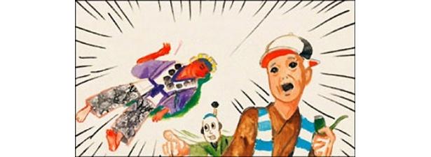 テングを殺した真犯人捜しが描かれる「テング殺人事件」