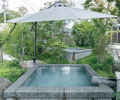 杜の湯リゾート / ほてった体を鎮めてくれる冷たい「涼泉」