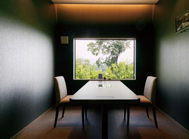 農のオーベルジュ 白金の森 / 個室でゆっくり食事ができる「レストラン 四季農」