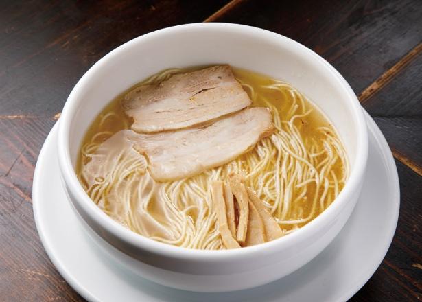 透き通ったスープに芳醇な旨味。如水の塩ラーメンは東海が誇る至高の一杯!