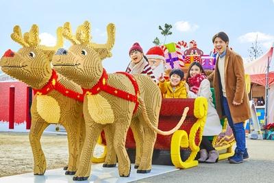 イベントエリアはクリスマス一色に!※画像はイメージ