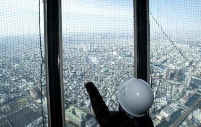 【写真】第1展望台から見た景色はこの迫力!