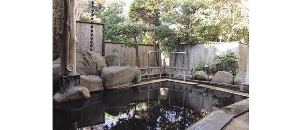 瀬田温泉 山河の湯/男女別の露天風呂をはじめ、すべての湯に100%天然温泉を使用