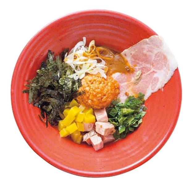 温製汁なし味噌担担麺(800円)/味噌担担麺 Style林