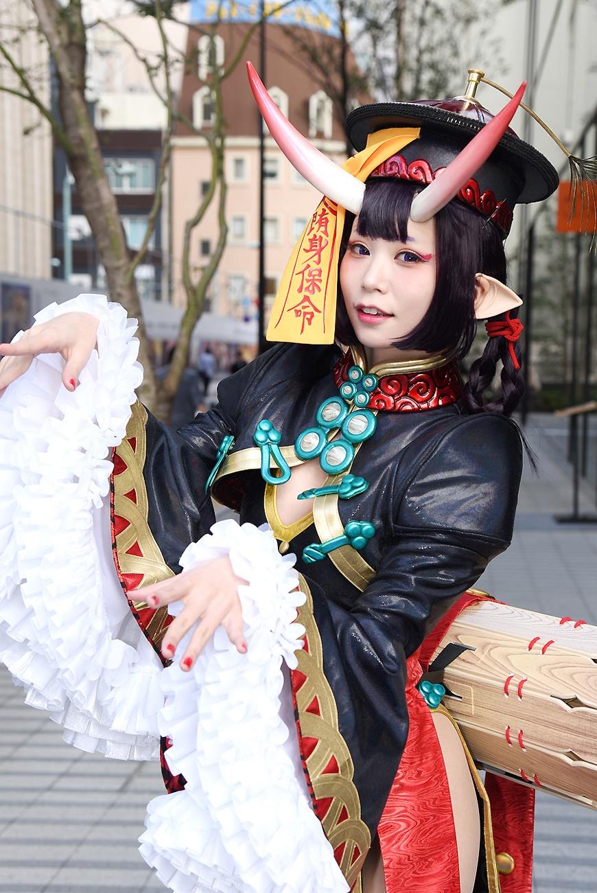 【写真を見る】「Fate/Grand Order」の酒呑童子に扮する五木あきらさんをはじめ、魅力的なコスプレイヤーがずらり!<写真20点>