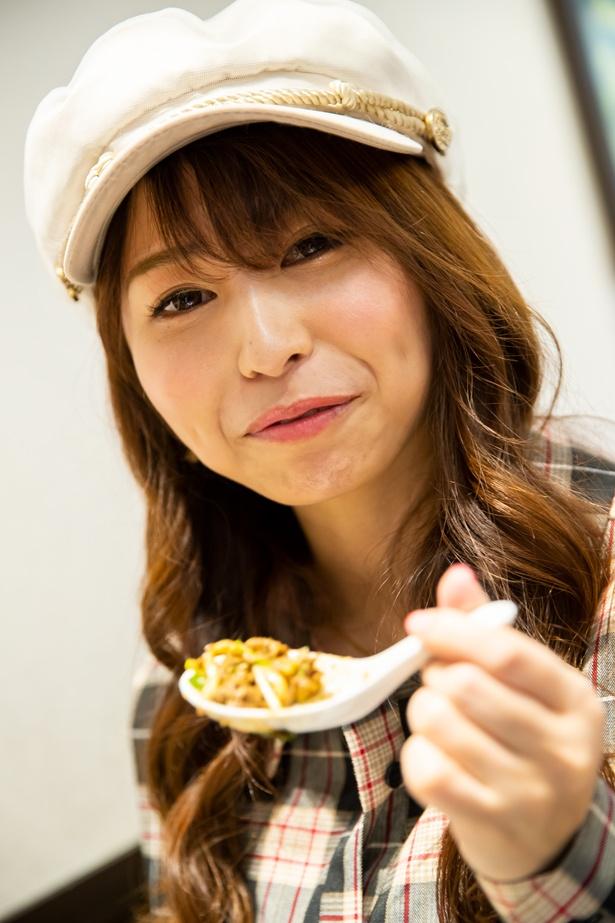 パスタのような食感が新感覚!「麺がモチモチでおいしい!」と瀬戸さん