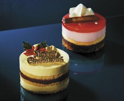 ホテルオークラが監修した2種類のケーキがセットに!「ホテルオークラ監修 ペアノエル」(税抜4800円)