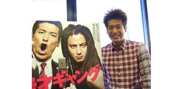 『漫才ギャング』で漫才師役に挑んだ佐藤隆太