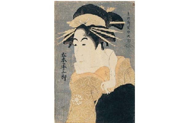 謎の天才絵師・東洲斎写楽が自然な雰囲気で役者を描いた「松本米三郎のけはい坂の少将実はしのぶ」