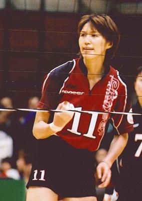 現役時代の吉原さん (C)アフロスポーツ