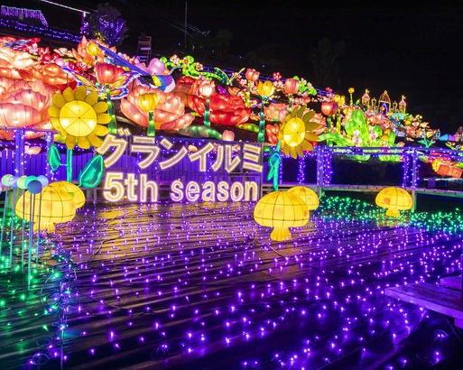 日本一に輝いた圧巻のイルミネーション!「伊豆高原グランイルミ」が今年もスタート