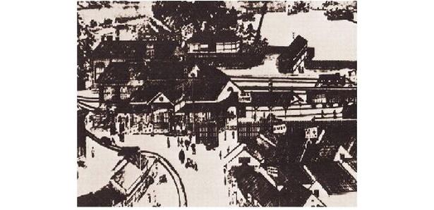 これが初代博多駅
