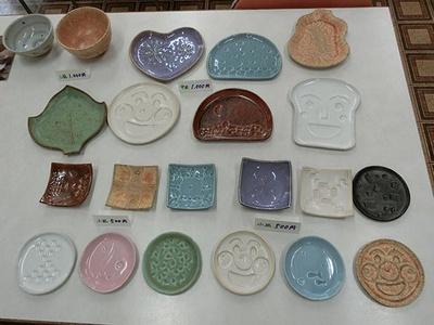 【写真を見る】自分好みの陶器を作ろう