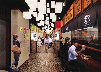 「オイシイもの横丁」には、鮮魚店直営の「BISTRO UOSUKE」など関西初の店が/LINKS UMEDA