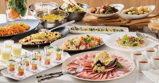 庭園を眺められるイタリアンレストラン「グリリアート・クオッカ」/LINKS UMEDA