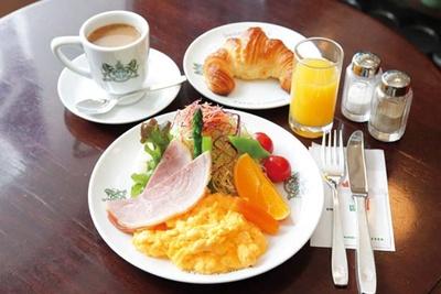 ボリュームたっぷりの京の朝食(1480円・7時から11時・LO)/イノダコーヒ 本店