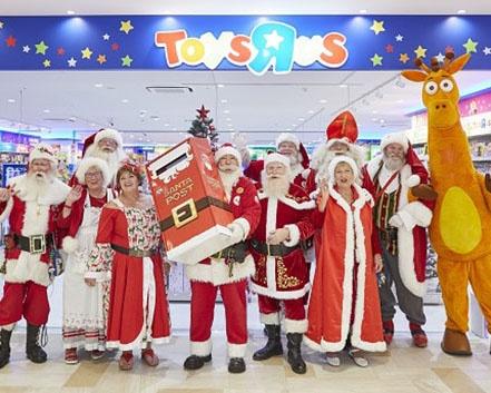 日本唯一の公認「サンタポスト」が、全国のトイザらスに登場!