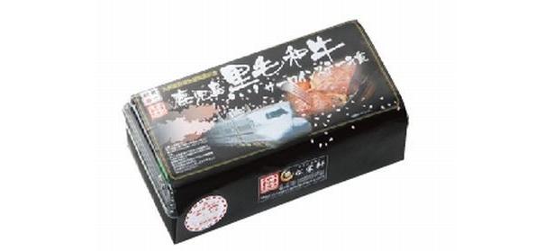 「鹿児島黒毛和牛サーロインステーキ重」(1100円)