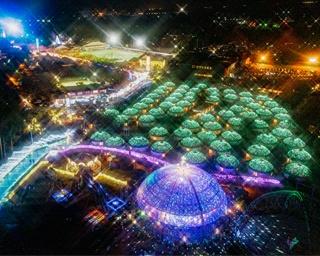 光が織りなす銀河の世界!静岡県御殿場市で「ひかりのすみか」開催中