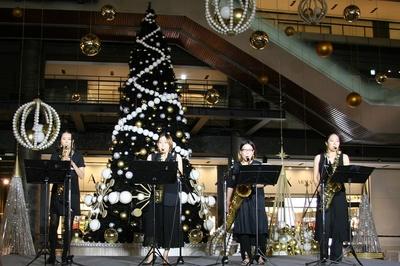 サクソフォンカルテット・コパンによるクリスマス特別ライブ