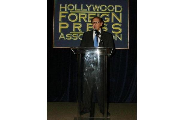 【写真】ハリウッド外国人映画記者協会のトップを務めるフィリップ・バークが声明を発表