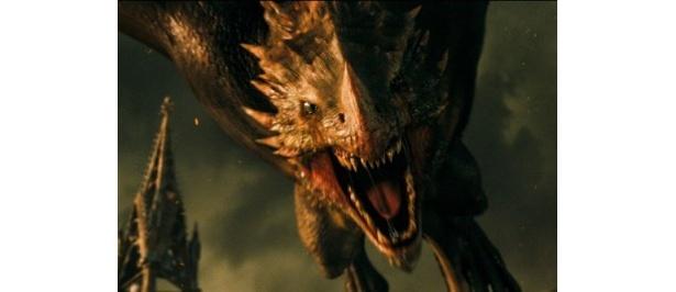強力なドラゴンとの戦いも見ものだ