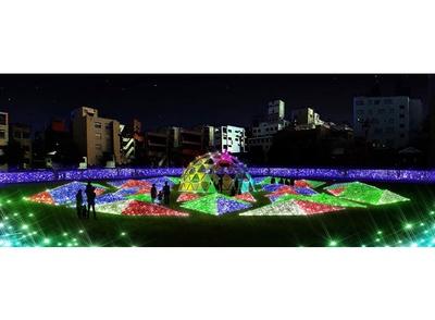 【画像を見る】天文館が100万球のイルミで輝く冬の祭典 / 天文館公園