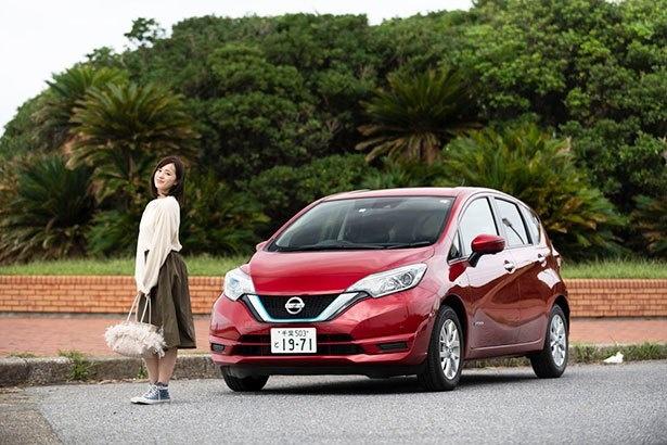 日産の電気自動車「ノート e-POWER」で九十九里海岸をドライブ