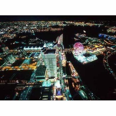 日本一高い展望フロアからの夜景!
