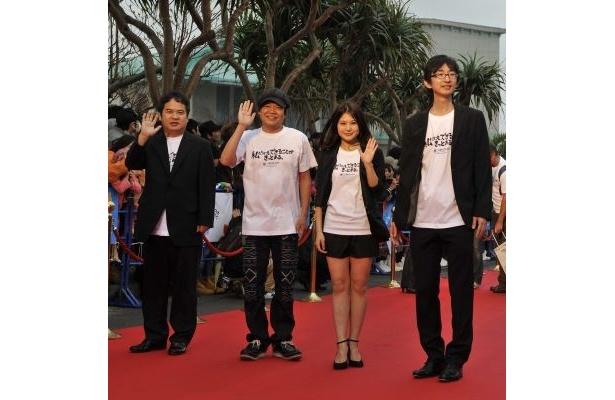 ほっしゃん。初主演映画『幸運の壷』からは小川通仁監督と佐津川愛美も