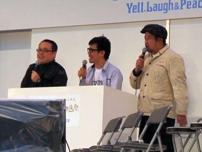 MCを務めたバッファロー吾郎とケンドーコバヤシ