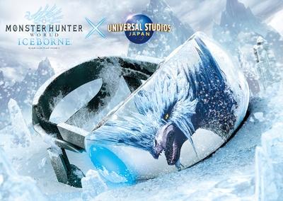 次世代型アトラクション「モンスターハンターワールド:アイスボーン×ユニバーサル・スタジオ・ジャパン」も登場