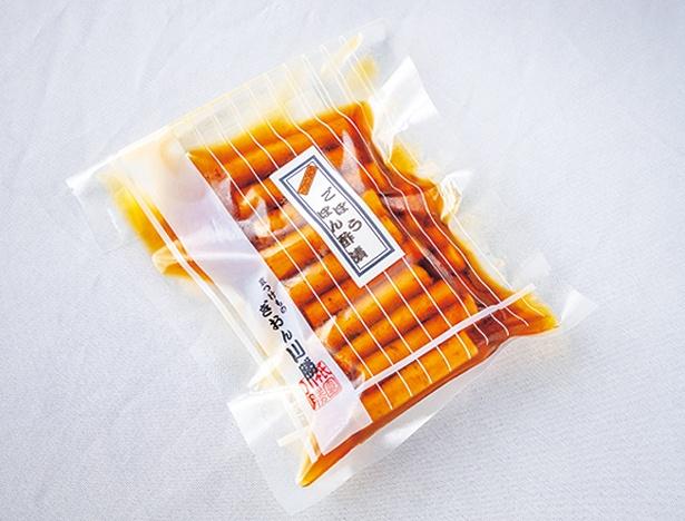 自家製ポン酢にゴボウを漬け込むごぼうぽんず漬(500円)/ぶゞ家