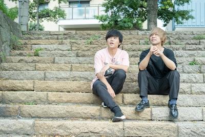ニューアルバム「DON'T STOP THE MUSIC」をリリースしたKEYTALKから、寺中友将と首藤義勝が福岡キャンペーンに訪れた
